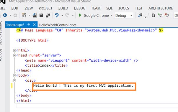asp net mvc best practices for high performance applications