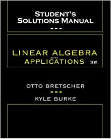 linear algebra with applications solutions