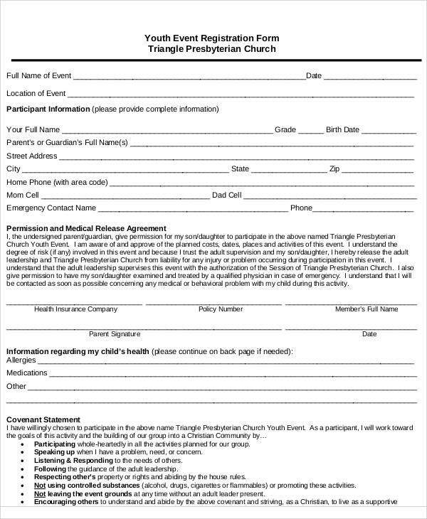 charity membership application form template