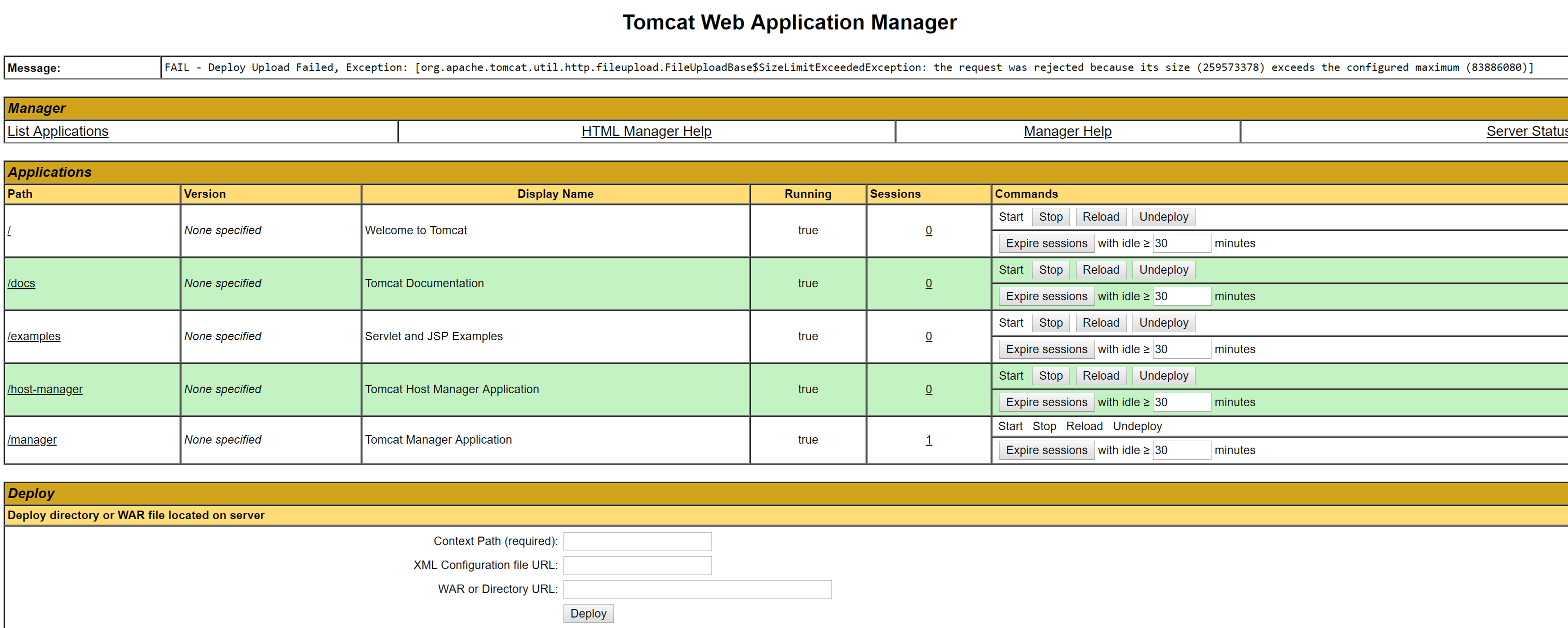 how to deploy java web application in godaddy
